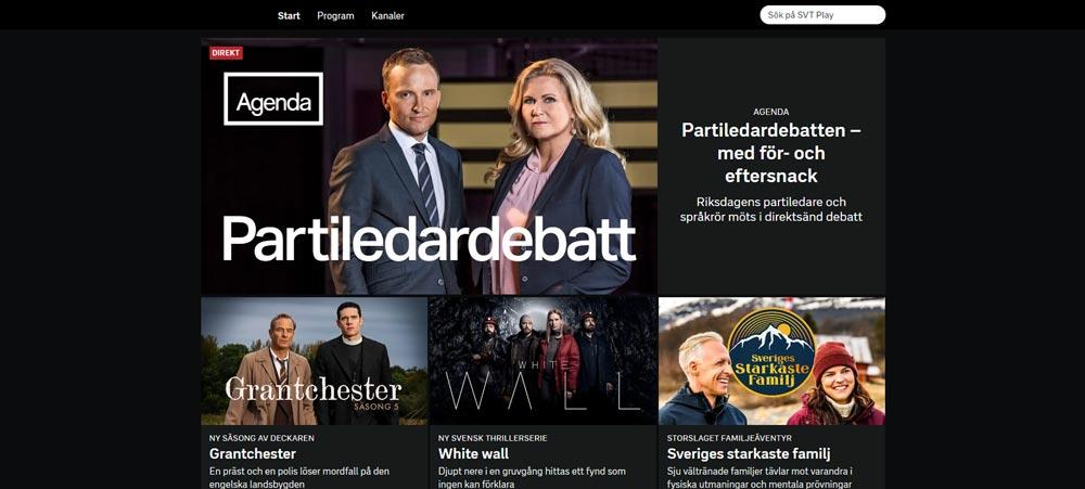 se SVT Play utomlands med en VPN tjänst